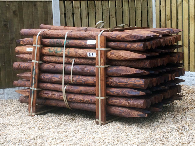 Agricultural Fence Posts